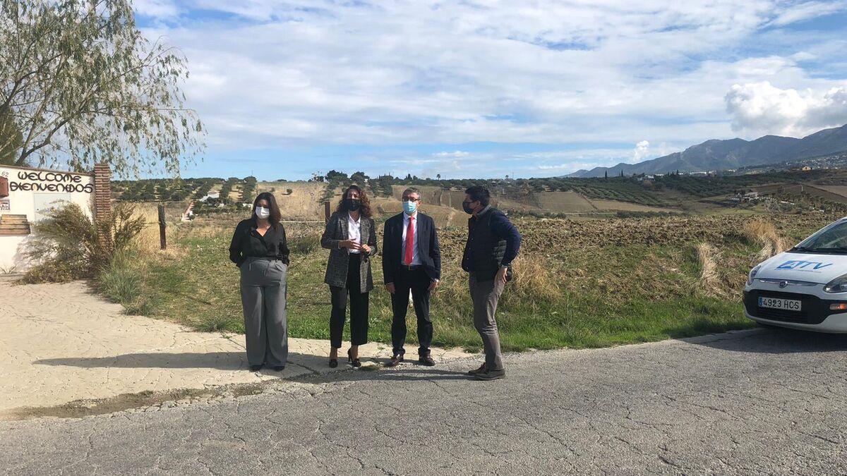 La Diputación destina 590.000 euros del Plan Málaga a Alhaurín el Grande