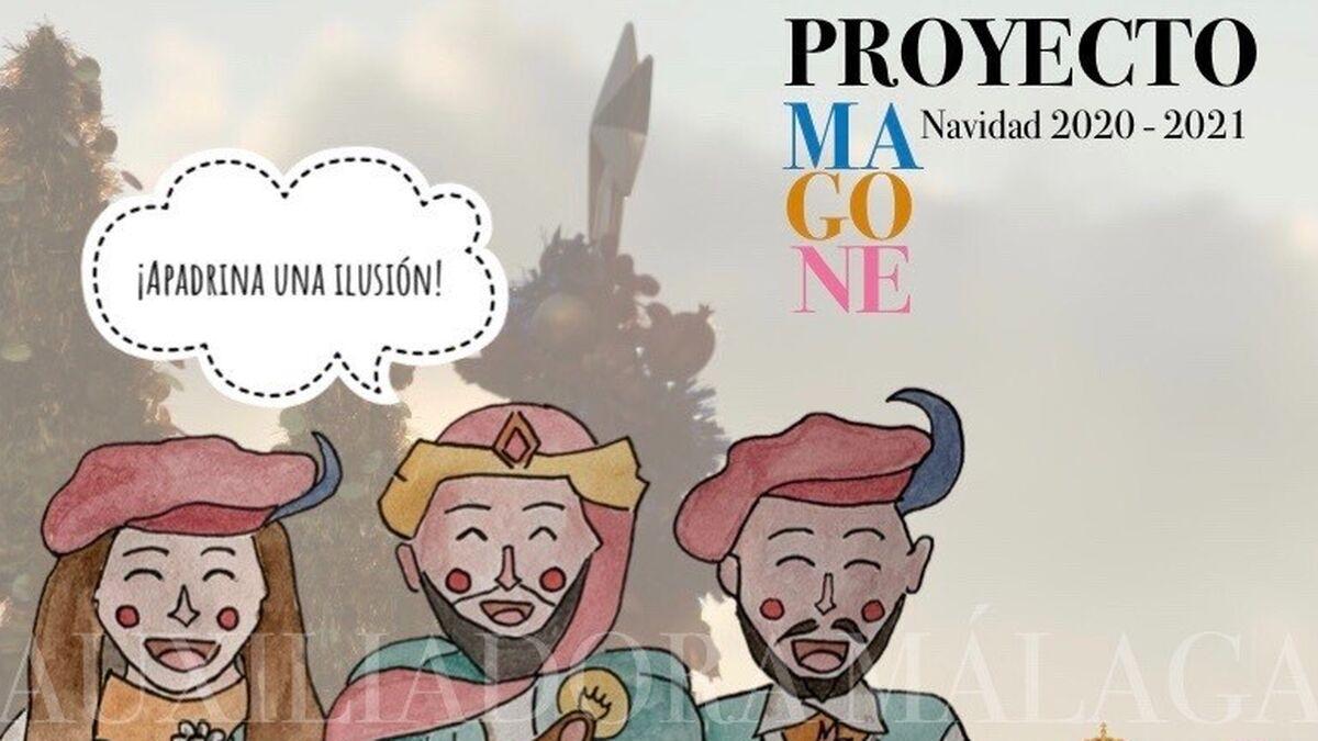 Cartel promocional del proyecto Magone.