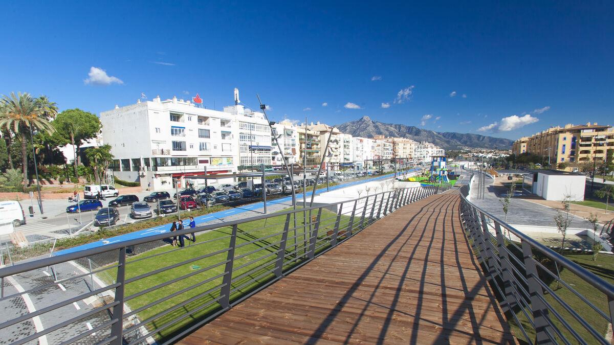 Marbella aprueba un proyecto para urbanizar el sur de San Pedro Alcántara