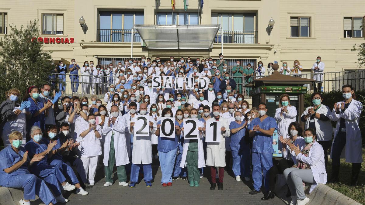 Salud anhelada en el 'frente Covid' del Hospital Regional de Málaga