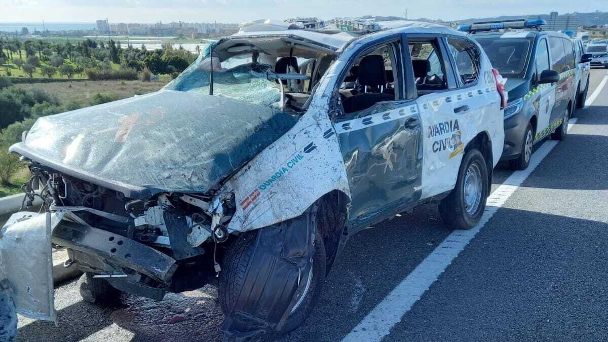 El detenido por embestir a los guardias civiles en Vélez-Málaga fue arrestado dos días antes