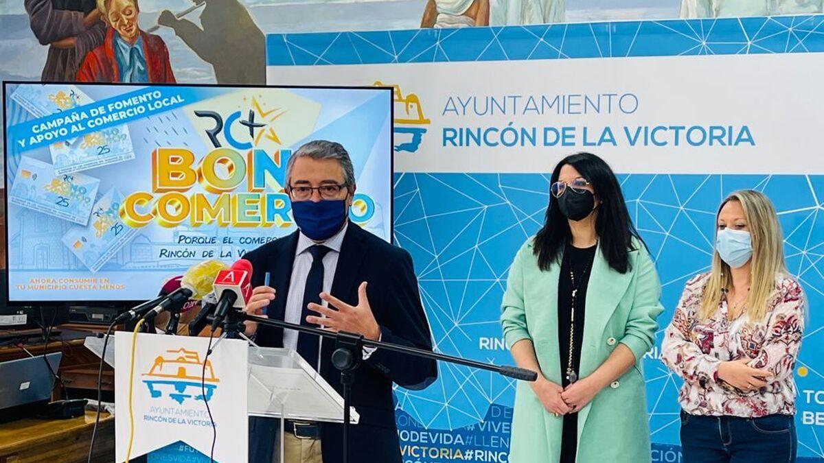 Rincón de la Victoria reparte algo más de un tercio de los bonos para compras