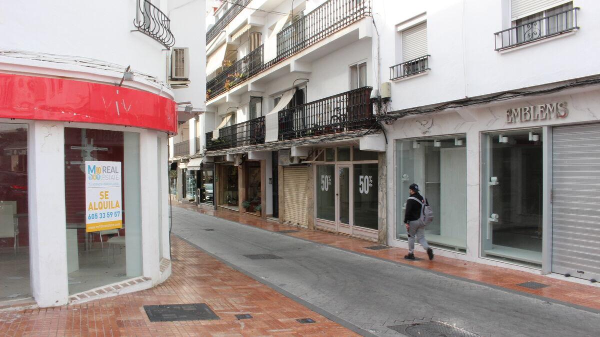 Al menos un 30% de empresas cierra en Marbella desde que comenzó la pandemia