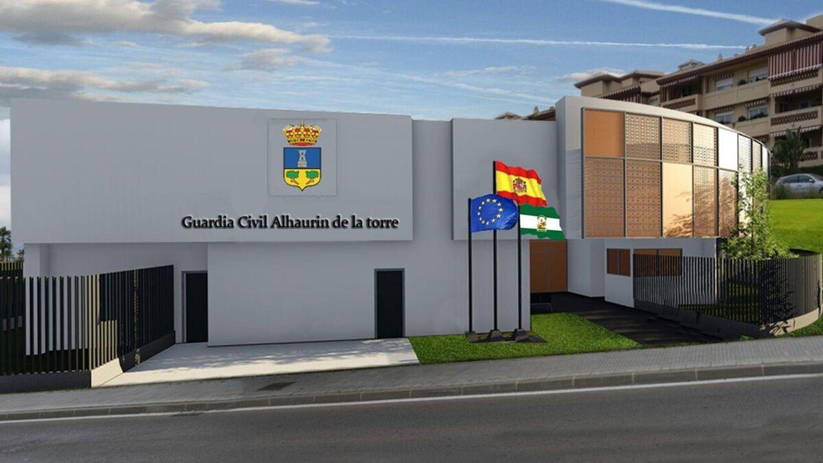 """El alcalde de Alhaurín de la Torre denuncia el """"abandono"""" a la Guardia Civil del municipio"""