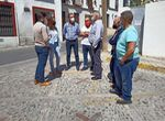 Ronda inicia las obras para acabar con el histórico estrechamiento de calle Armiñán