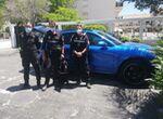 Recuperan en Torremolinos un coche Porsche de alta gama robado en Alemania