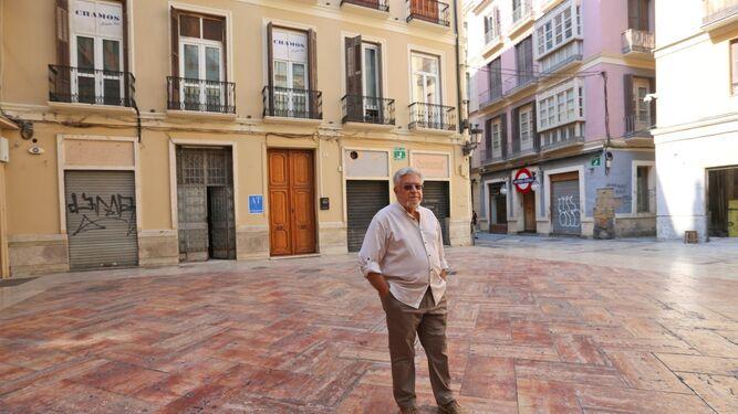 Alfonso Miranda, presidente de la Asociación de Vecinos del Centro Antiguo